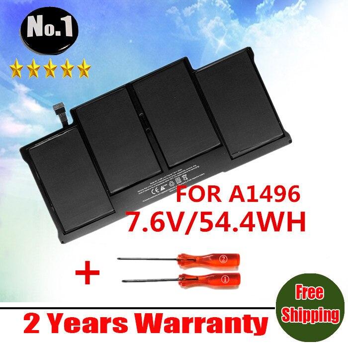 Prix pour Gros nouvelle Batterie D'ordinateur Portable Pour APPLE MACBOOK AIR 13.3 2013 A1466 MD760 MD761 A1496