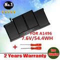 Venta al por mayor nueva batería del ordenador portátil para APPLE MACBOOK AIR 13.3 2013 A1466 MD761 MD760 MD761 A1496