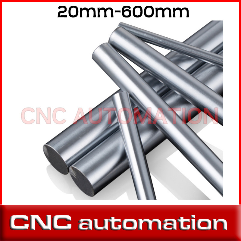 Cylinder New OD 8MM Liner Rail Linear Shaft Optical Axis rod 8*600mm