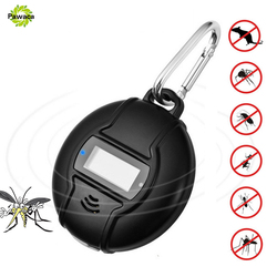 Outdoor Portable Electronic Mosquito Repeller Hook Type Solar Type Pest Repeller Solar Ultrasonic Mosquito Insect Killer