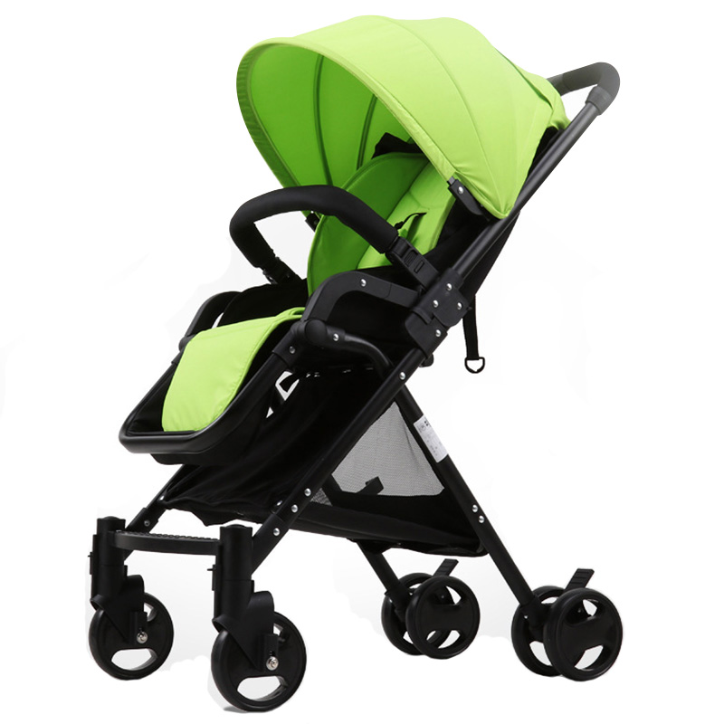 New Arrival Baby Stroller High Landscape Infant Pushchair Portable Foldable Travel Strollers Toddler Baby Buggy Seat Lying Prams