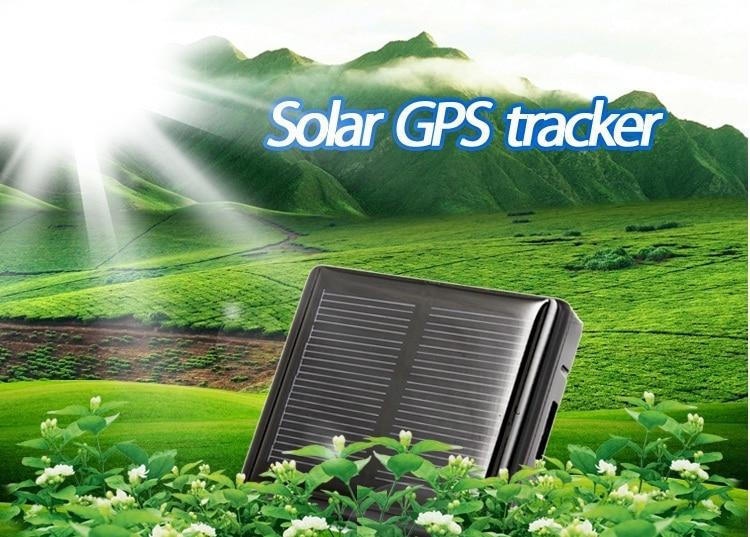 Traqueur solaire imperméable de GPS classe 12 tcp/ip 850/900/1800/1900 MHz animaux de vache de mouton d'animal familier gps/gprs/suivi en temps réel de localisateur de gsm