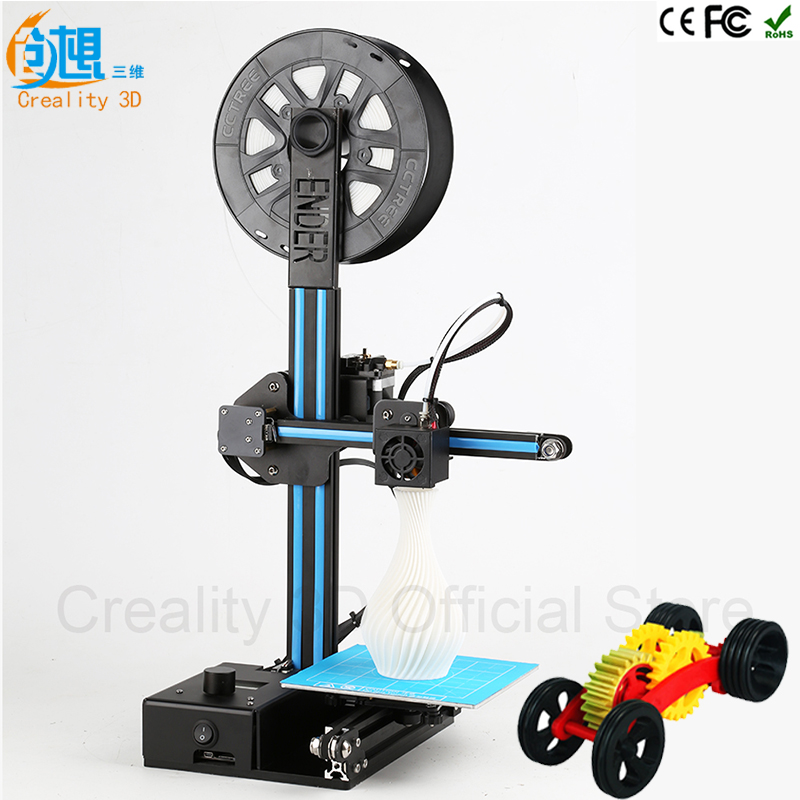 Creality 3D-принтеры шкив версия руководство DIY Kit Дешевые 3D-принтер ender-2 широкоформатной печати Размеры 3d металлической нити принтера