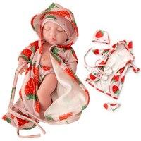 10inch BJD Newborn Lifelike Doll Soft Rubber Dolls Full Silicone Mini Dolls Reborn Baby Simulation Toy Gift For Children h02