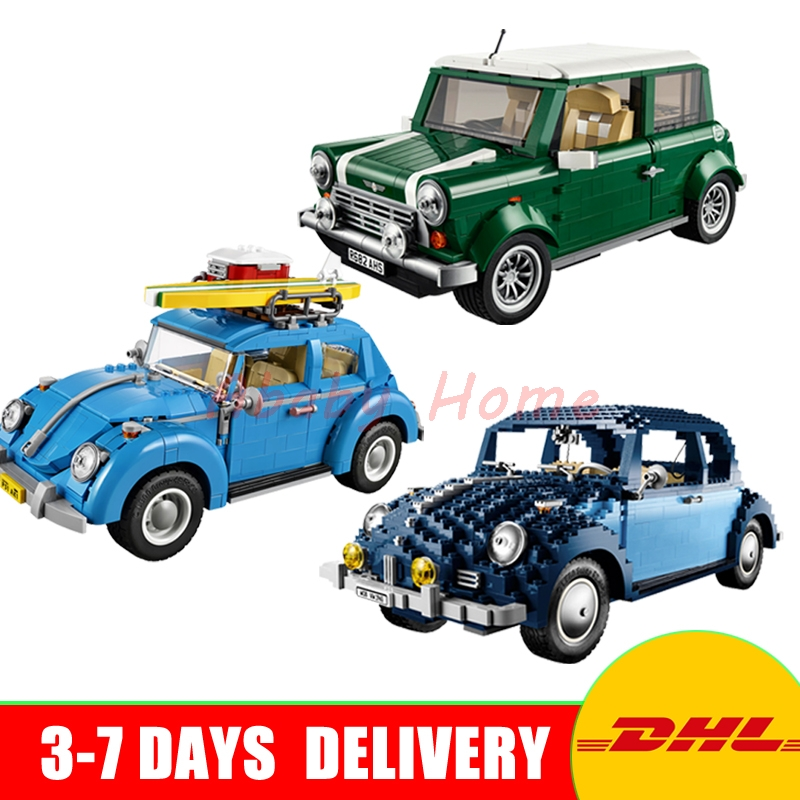 In Stock LEPIN 21002+ 21003+ 21014 Technic Series Set Model Building Kits Block Bricks Children Gift Toy Clone 10242 10252 10187 new lepin 21003 series city car beetle model educational building blocks compatible 10252 blue technic children toy gift