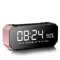 Alarm Clock LED Reloj Digital Benfica Table Talking Grabber Multi Function Audio Desktop Despertador Proyector Electronic