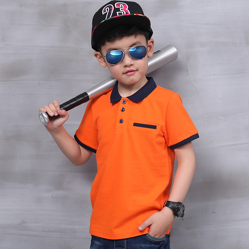 Pioneer Kids Top quality boys shirt for kids brand big boy clothes Summer short sleeve cotton t-shirts pioneer cam t shirt