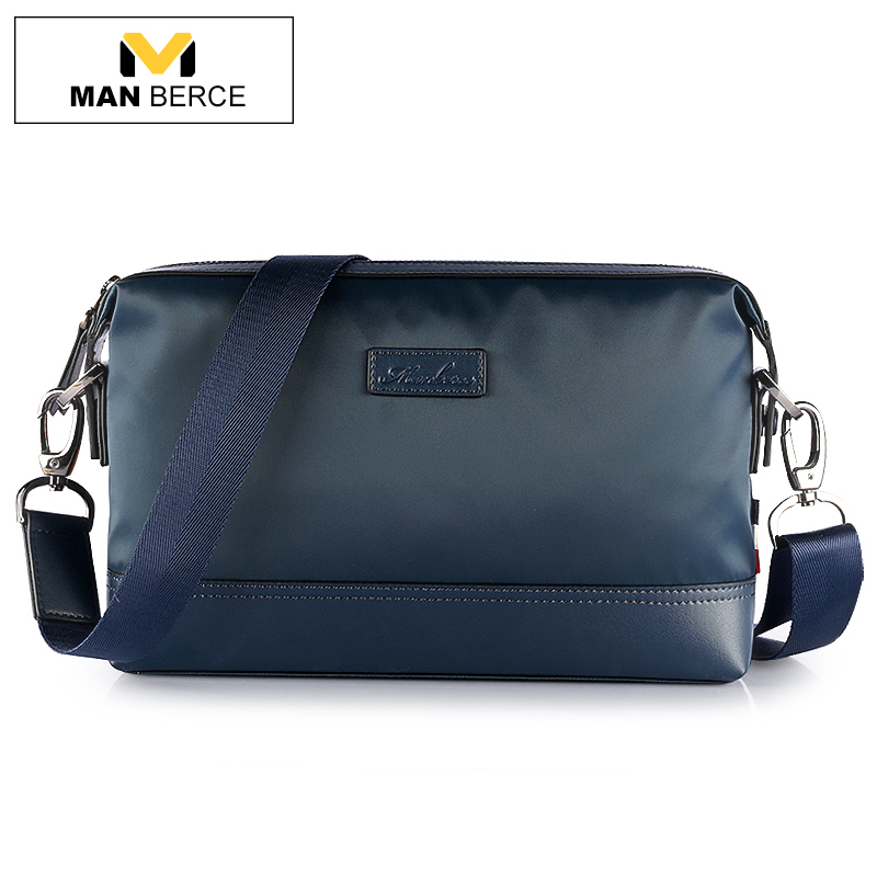 MANBERCE Men Shoulder Bags Canvas Clutch Bag Large Capacity Wallet Brand Purses And Handbags Men's Crossbody Bag Free Shipping free shipping dbaihuk golf clothing bags shoes bag double shoulder men s golf apparel bag