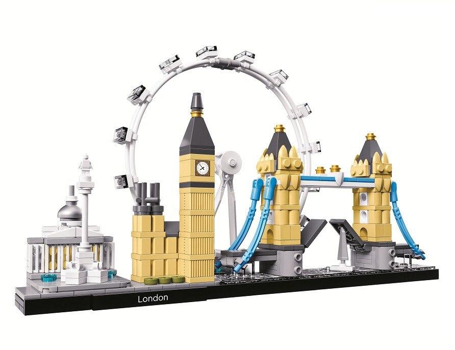 BELA L'architecture Londres Collection Cadeau Ensembles de Blocs De Construction Ville Briques Classique Modèle Enfants Jouets Compatibles Lego