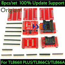 8 stücke Original V3 TSOP48/40/32 buchse SOP44/56 adapter von XGecu TL866II Plus MiniPro TL866CS /EINE Tl866 USB Universal Programmer