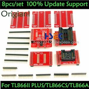 Image 1 - 8pcs Original V3 TSOP48/40/32 ซ็อกเก็ต SOP44/56 อะแดปเตอร์ XGecu TL866II Plus MiniPro TL866CS /A Tl866 Universal USB