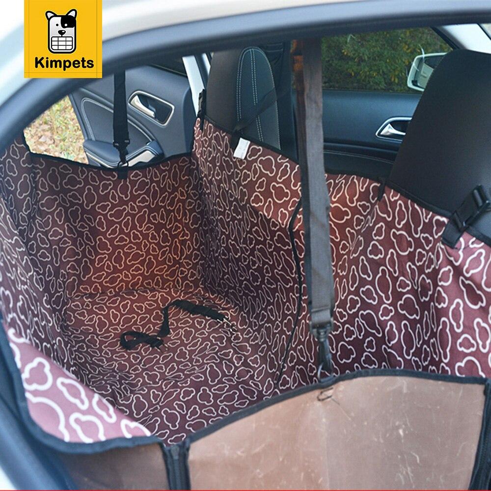 Бесплатная доставка Детская безопасность Водонепроницаемый Коврики S гамак протектор задняя собака автомобиля Коврики сиденья ПЭТ автомо...