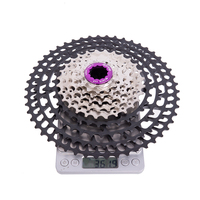 10 Speed 11 50T SLR2 MTB UltraLight Cassette 10s 50T Freewheel CNC 454% Ratio Mountain Bike Bicycle Parts for m6000
