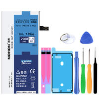 NOHON Original 2900mAh Built In Phone Battery For IPhone 7 Plus High Quality Replacement Batterie With