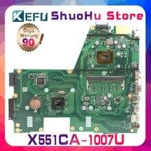 Kefu для ASUS X551CA X551CAP F551C R512CA X551C 1007U материнская плата с процессором для ноутбука протестированная 100% работа оригинальная материнская плата