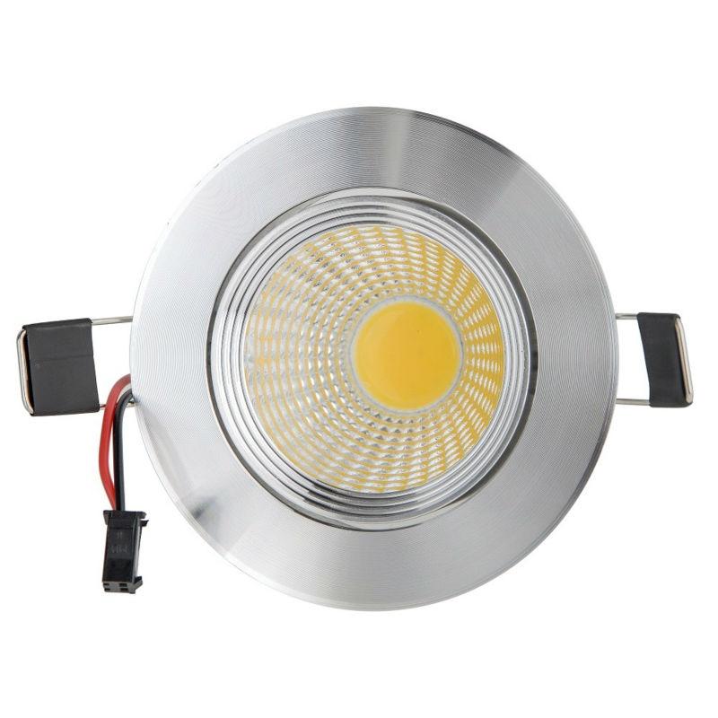 Оптовая продажа 9 Вт Потолочный светильник СИД Epistar потолочный светильник Встраиваемые пятно света AC85-265v для домашнего освещения светодиод...