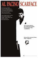 2014 Hot Sale AL PACINO SCARFACE Poster Prints High Quality Picture Nice Movie Style Custom Poster