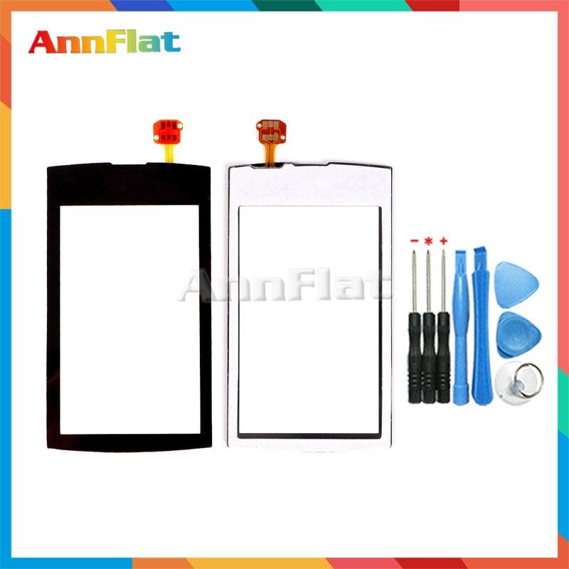 High Quality 3.0 For Nokia Asha 305 3050 306 Touch Screen Digitizer Front Glass Lens Sensor Panel + Tool