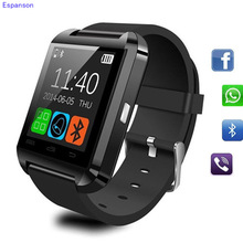 Espanson U8 Smart Watch Clock Sync Notifier Wrist with Men  Bluetooth Electronics Sport Smartwatch For Android ISO Samsung Phone