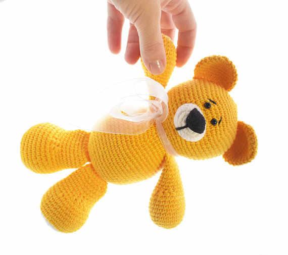 Amigurumi Urso Menina Crochê Bebê Decoração Ursinho Rosa - R$ 84 ... | 505x570
