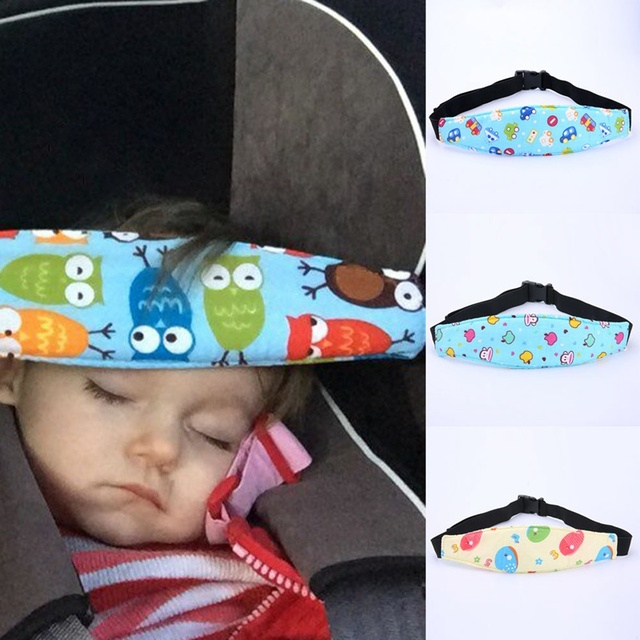 Baby Car Safety Belt Auto Seat Belts Sleep Aid Head Support For Kids Toddler