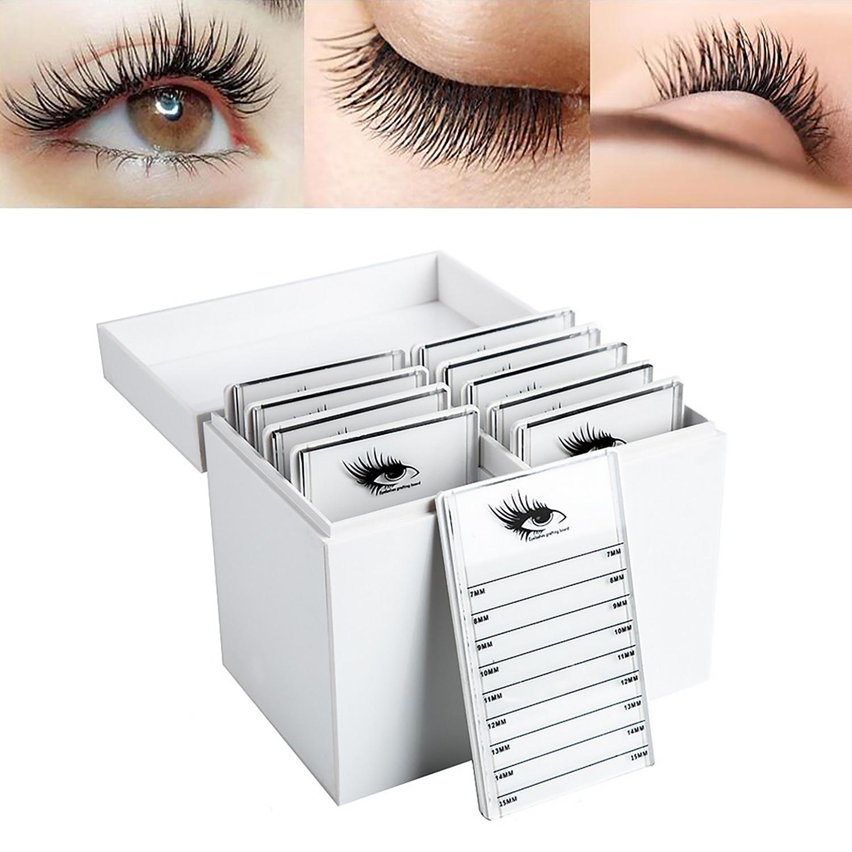 10 Layer Eyelash Storage Box Organizer False Eyelashes Glue Pallet Holder Grafting Eyelashes Extension Accessories Makeup Tools