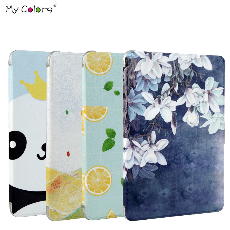 Lovely Painting PU Leather Stand Case for Apple iPad mini 3 2 1 Case Cover For iPad mini 1 / 2 / 3 Silicon Soft Back Tablet case
