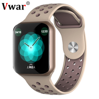 Vwar AW5 Heart Rate Monitor Blood Pressure Smart Watch Waterproof Men Sport Bluetooth Smartwatch Series 4 for Apple iPhone IOS