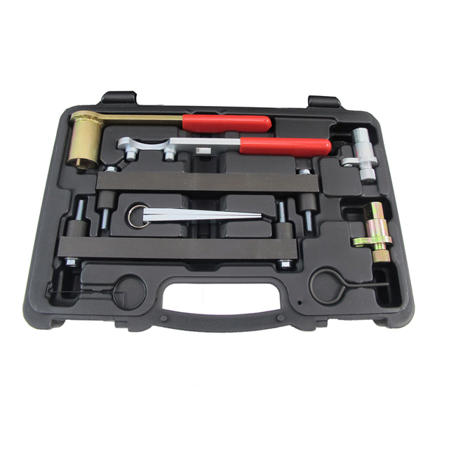 MADE IN TAIWAN 9 PCS Para JAGUAR e LAND ROVER 3.2 3.5 4.0 4.2 4.4 V8 Motor Camshaft Alignment Tool Set