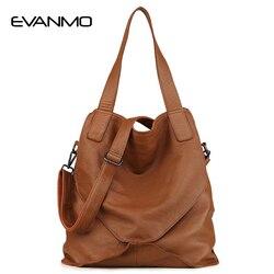 Сумка на плечо из натуральной кожи, женская сумка на каждый день, большая вместительность, брендовая дизайнерская сумка-тоут, кошелек, высок...