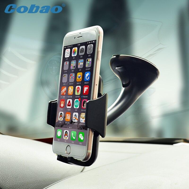 Teléfono Móvil del coche titular para el iPhone 6 s más 6 5S para Samsung Galaxy note 4 S6 borde S5 ajustable 360 girar soporte 6.0 pulgadas