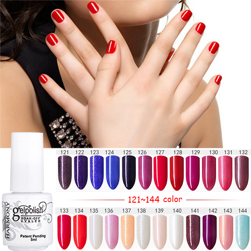 MDSKL 168 Kleur Nagellak UV LED Langdurige Nail Gel Polish Nail Art Gel Lak 5 ML / Fles Losweken UV Gel Nail