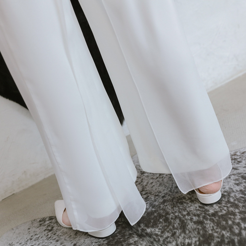 2018 Summer Strapless Jumpsuits Rompers Women White Sleeveless Straight Pants Office Lady for Women Sheath Party Club Jumpsuit 17