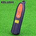KELUSHI Novo 1-5 km 1 mw localizador visual de falhas SC/FC/ST Cabo De Fibra Óptica Testador verificador