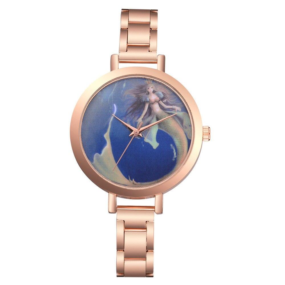 Women's Watch Quartz Feminino Golden Ladies Luxury 30Y Lvpai Belt Steel Relogio