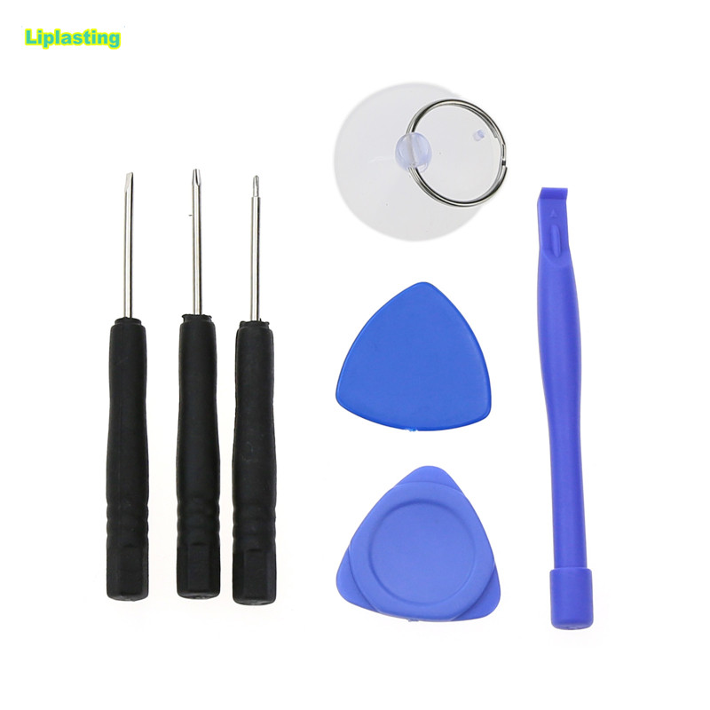 Liplasting 7pcs Mobile Phone Repair Tools Kit Spudger Pry Opening Tool Screwdriver Set for iPhone 7