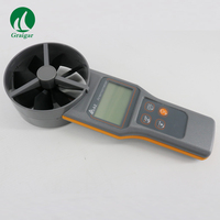 AZ8916 Anemometer Wind Speed Meter Air Flow (Air Velocity) Air Volume Temp. Humidity Measuring