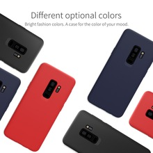 For Samsung Galaxy S9 Plus Case NILLKIN Liquid Smooth Silicone case For Samsung S9 Plus Cover luxury protective bags 6.2 inch