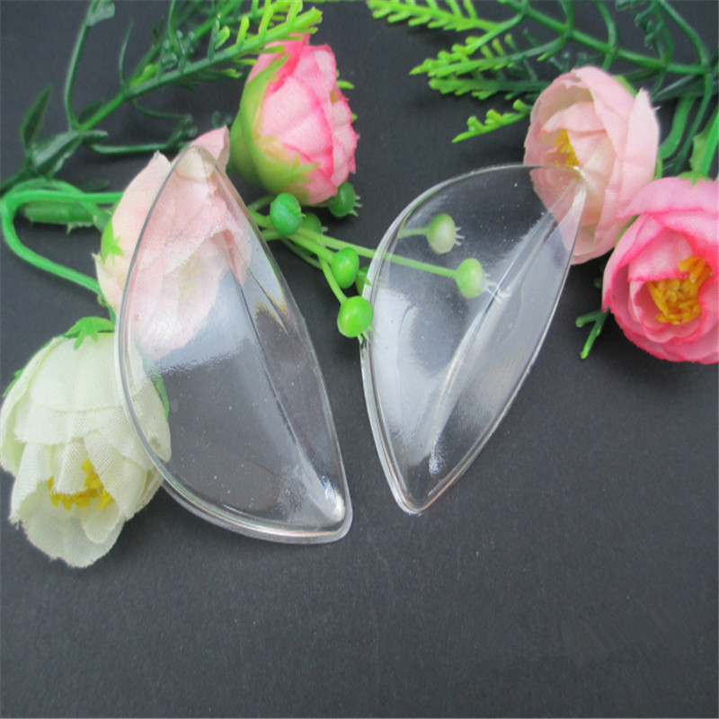1 PAIR TRANSPARENT KIDS & ADULTS Silicone Gel Arch Support Shoe Inserts Foot Insole Wedge Cushion Pads Pain DDISA1018