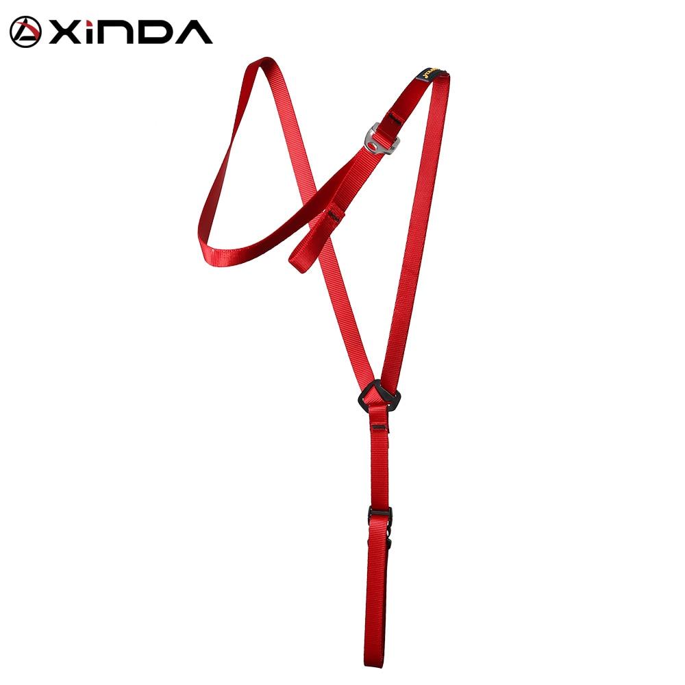 XINDA Camping Ascending Decive Shoulder Girdles Adjustable Chest Safety Belt Harnesses Rock Climb Safety ProtectionSurvival