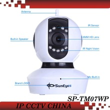 SunEyes SP-TM07WP Cámara IP 720 P HD Wireless Pan/Tilt con ONVIF RTSP y de Dos Vías de Audio Micro SD ranura