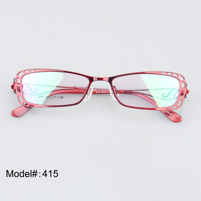 415 Novo Design de Alta Qualidade Elegante de metal óculos ópticos quadro miopia óculos óculos óculos