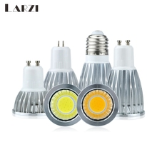 цена на Spot Lamp LED Bulb Led E27 GU10 GU5.3 MR16 Cob AC85-265V 3W 5W 7W 10W Bulb Replace Halogen Lamp Energy Saving Lamp