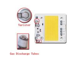5 pçs/lote LED COB CHIP AC110V/220V de Entrada com Smart IC 50W 100W 150W 200W Apto Para DIY Projector de Alta anti surge tensão