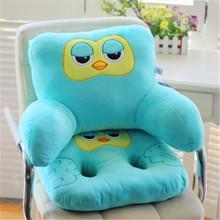 2Pcs Set Fashion Cute Cartoon Animal Pillow Waist Pillow U Shaped Neck Pillow Office sofa cushion