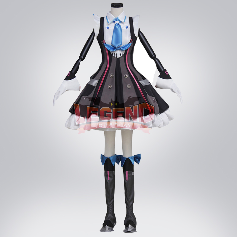 Cosplay legend Vocaloid Hatsune Miku adult costume Custom Made full set