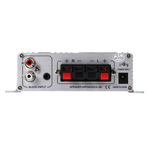 Zeepin LP – 2020A 20W x 2 RMS Home HiFi Digital Stereo Amplifier with Over-current Safeguard and Infrared Remote Control Silver