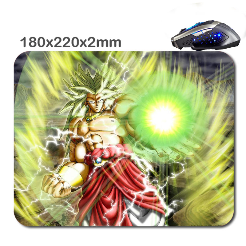 2016 New products DIY 3D printing Dragon Ball Z Mouse Pad Custom Rubber Gaming Laptop Computer Tablet Mouse Pad As Gift