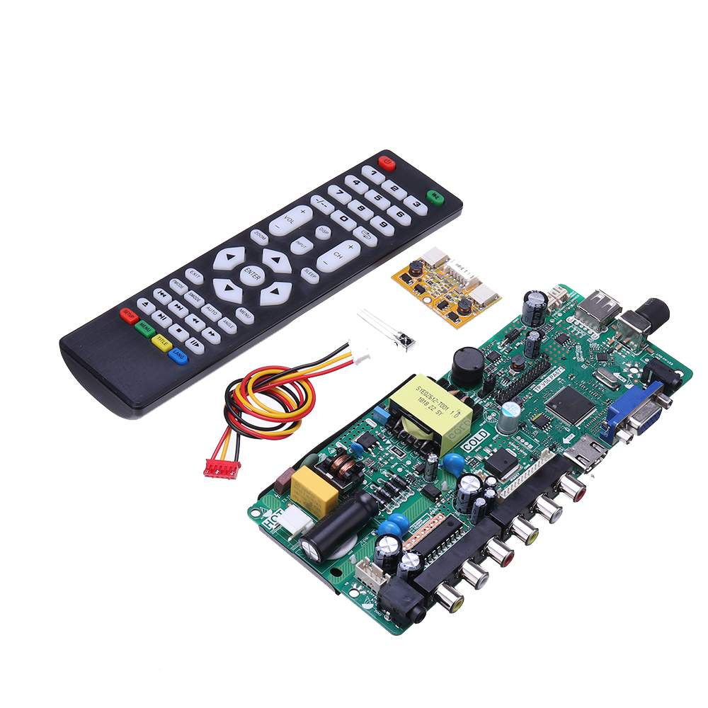 LEORY TP.VST59.PA671 Power Motherboard Integrated LCD TV Driver Board Instead Of TP.VST59.P67 With Contral Remate