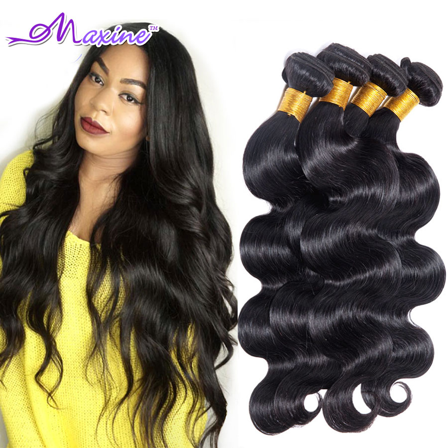 Peruvian Virgin Hair Body Wave 4 Bundle Deal Maxine Hair